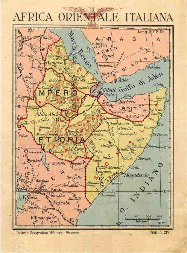 L'Africa Orientale Italiana (AOI)